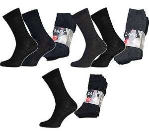 NEU 10er Pack Basic Socks Socken Herren Business-Socken Anzug-Socken R1780