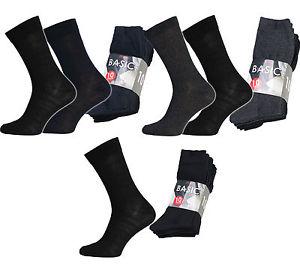 NEU 10er Pack Basic Socks Socken Herren Business-Socken Anzug-Socken R1780