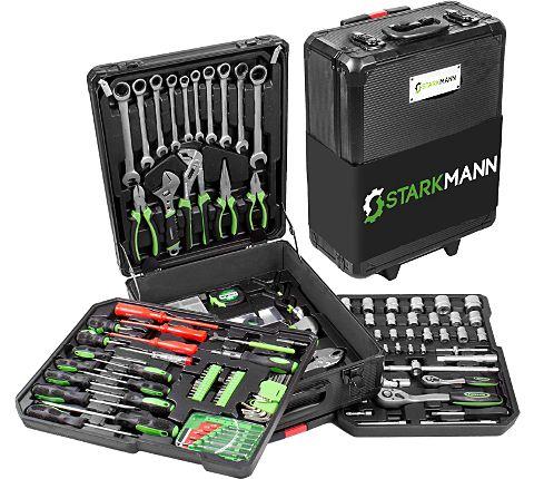 [Garten XXL] Starkmann Blackline Werkzeugkoffer 399-teilig