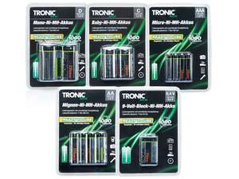 [Lidl] TRONIC® Ready to use-NiMH-Akkus ab 27.02.