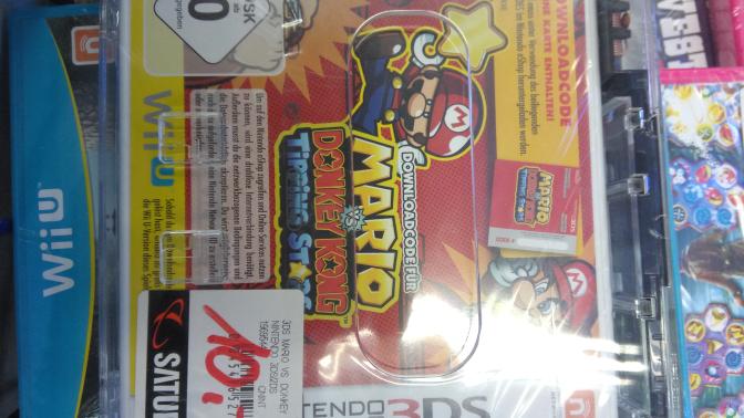 Mario vs Donkey Kong Tipping Stars 3DS Lokal Saturn Luisenforum