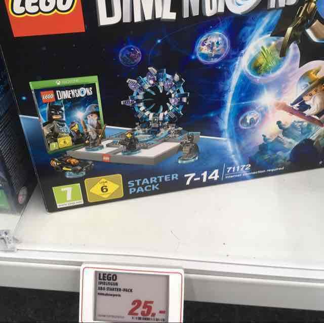 [Media Markt Bielefeld] Lego Dimensions XBOX one und PS3 25€ PVG 49€