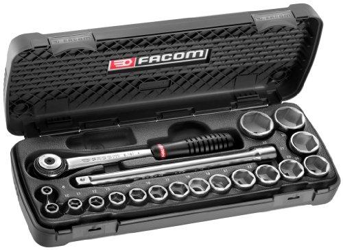 Facom S.161R.6PG Ratschenschlüssel-Koffer, 1/2 Zoll, Steckschlüssel für 90,65€ [amazon.fr]