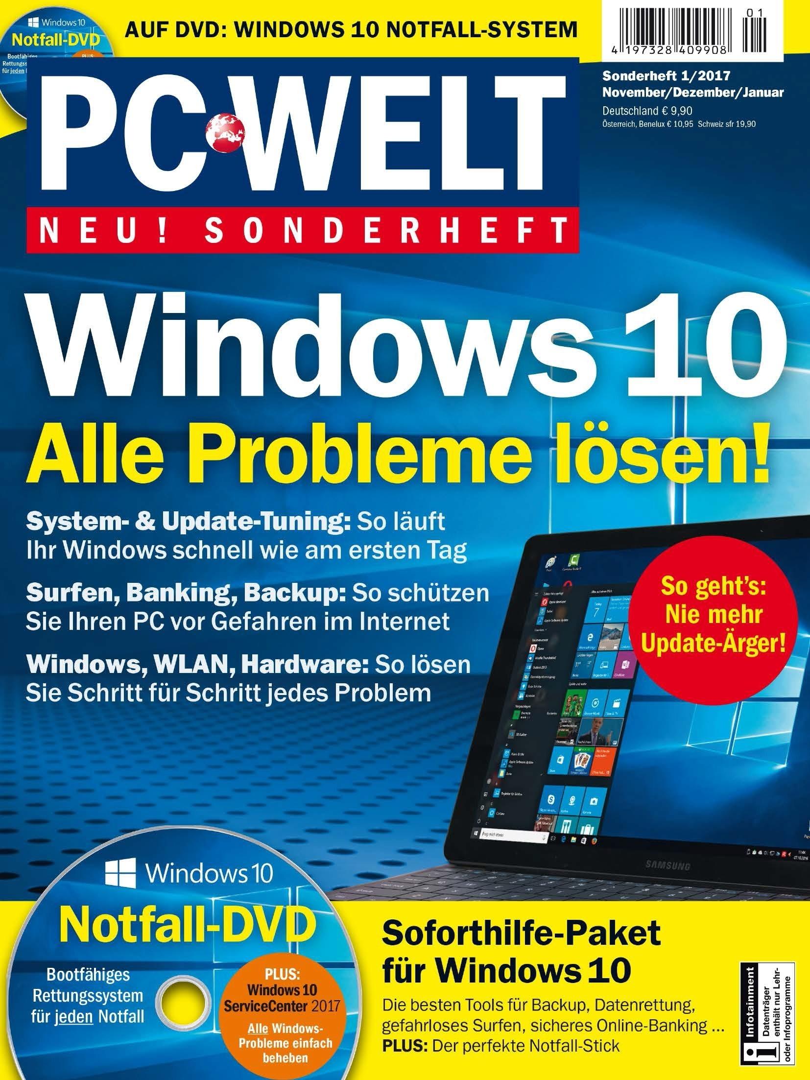 PC Welt - Gratis Sonderheft Windows 10: Alle Probleme lösen