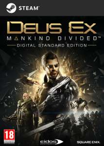 Deus Ex: Mankind Divided [Steam] für 14€ (Amazon.co.uk)