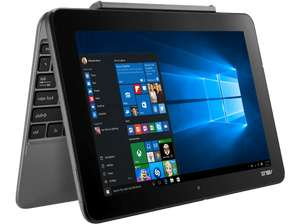 [Saturn LNS Special] ASUS Transformer Book (T101HA-GR030T), Convertible mit 10.1 Zoll, 128GB eMMC Speicher, 4 GB RAM, Atom™ x5 Prozessor, Windows® 10 Home (64 Bit), Glacier Gray + Office 365 für 266,-€