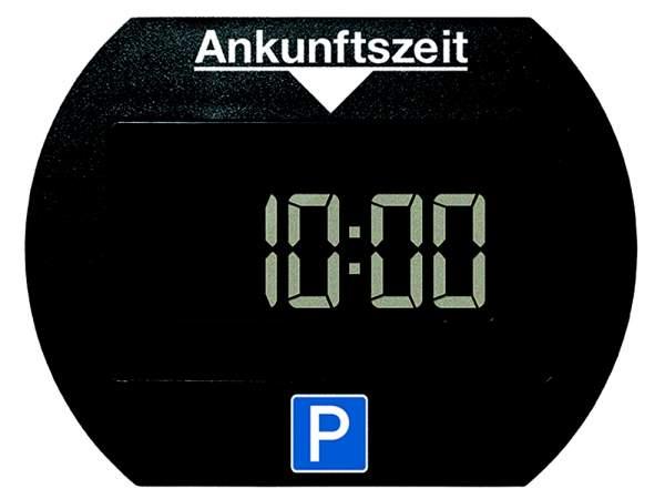 Elektronische Parkscheibe mit Zulassung vom Bundesministerium für Verkehr