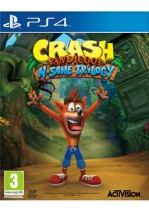 Crash Bandicoot N.Sane Trilogy - [PlayStation 4] @ Simplygames für ca. 34€