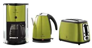 Russel Hobbs™ - Wasserkocher,Toaster,Kaffeemaschine (Jungle Green) für €51,90 [@Interspar.at]