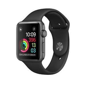 Apple Watch Series 2, 42mm,Space Grau/Sport.Schwarz,Grau/Nylon,  für Ebay + Mitglieder