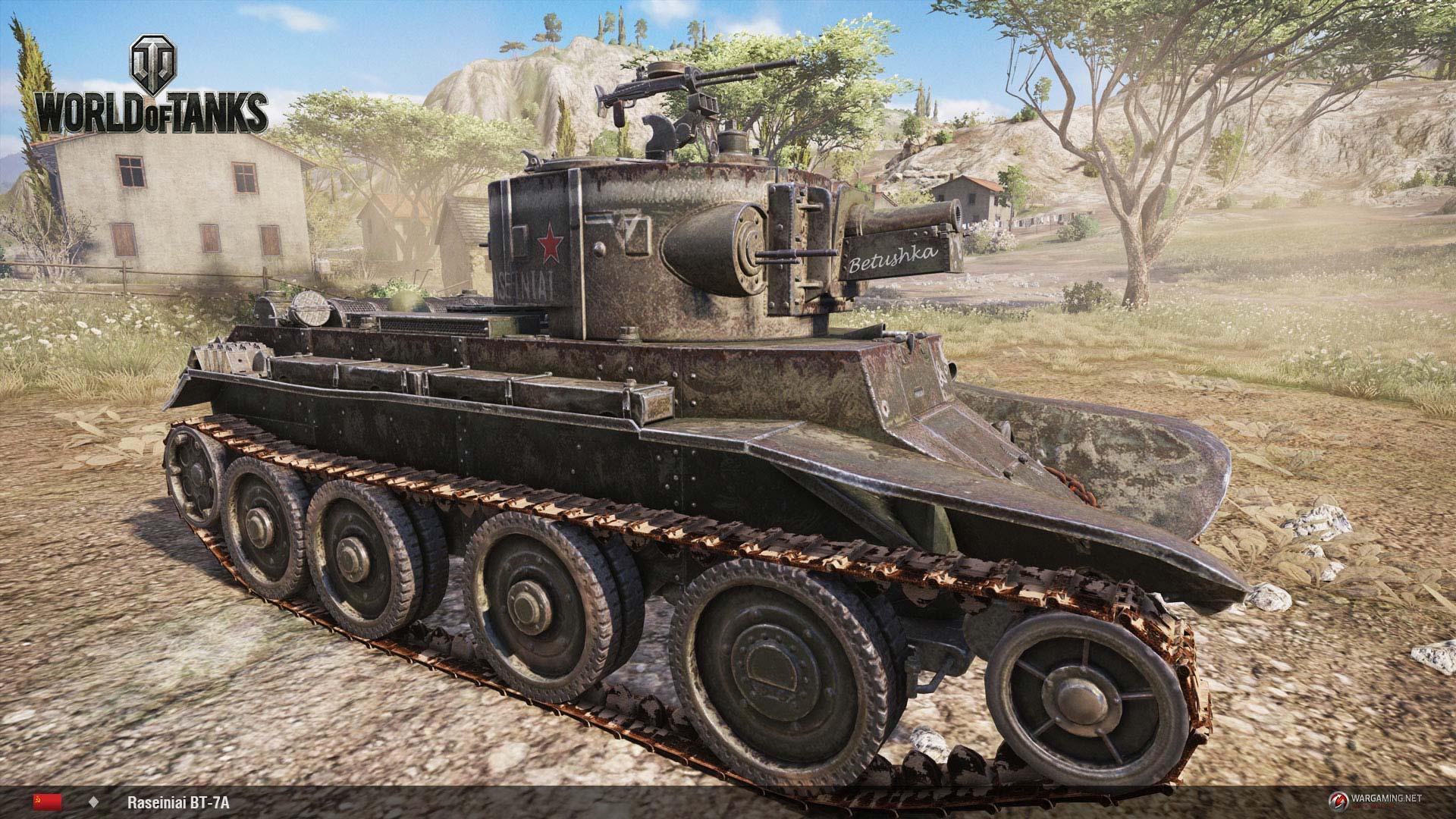 World of Tanks Raseiniai BT-7A PS4/Xbox One