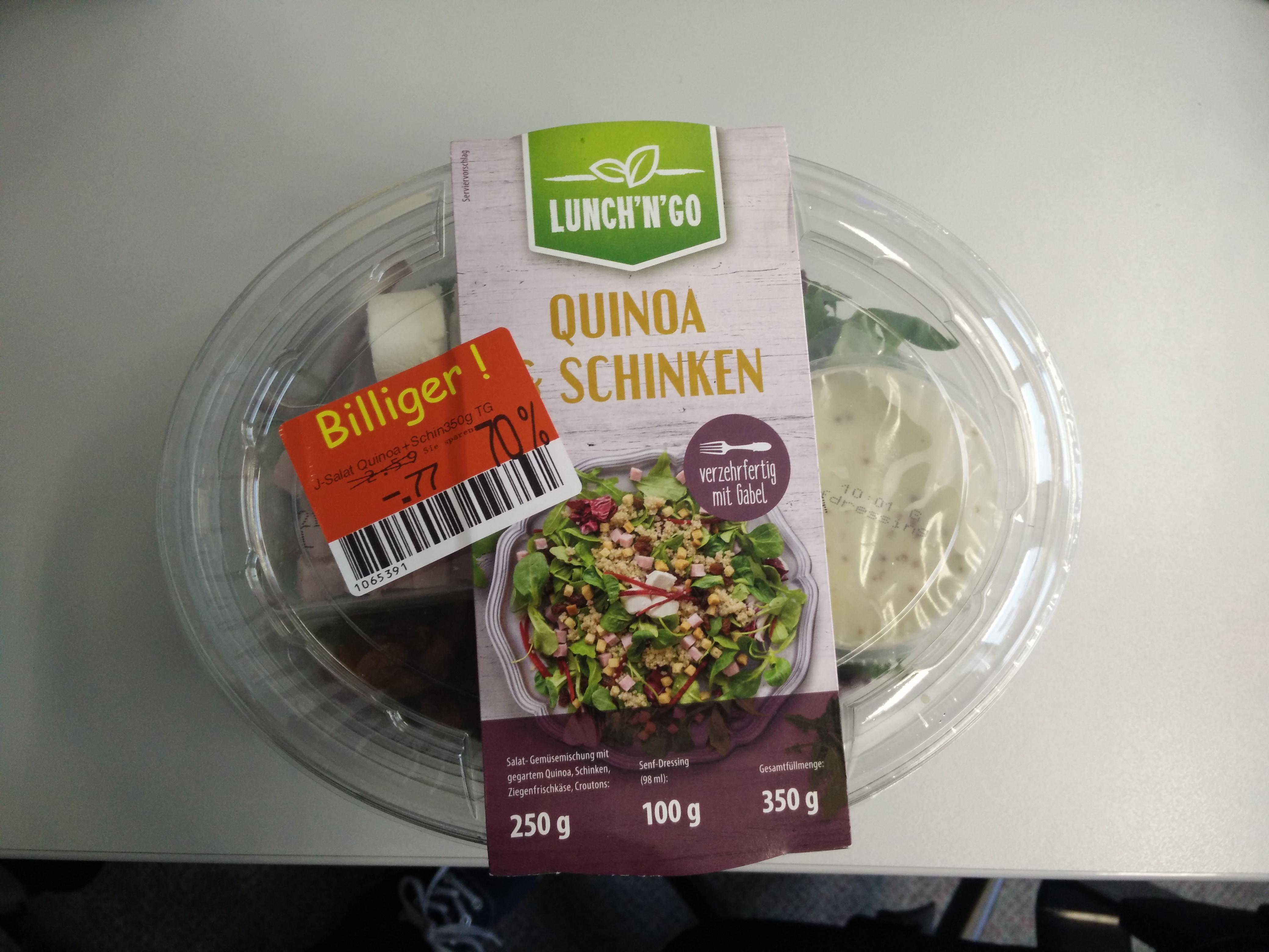 [Lokal Würselen][Kaufland] Abverkauf von Fertigsalaten