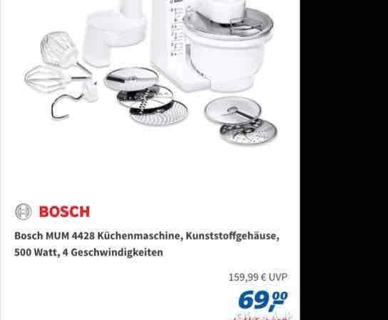 Real-Tagesangebot am 23.02.17 Bosch MUM 4428
