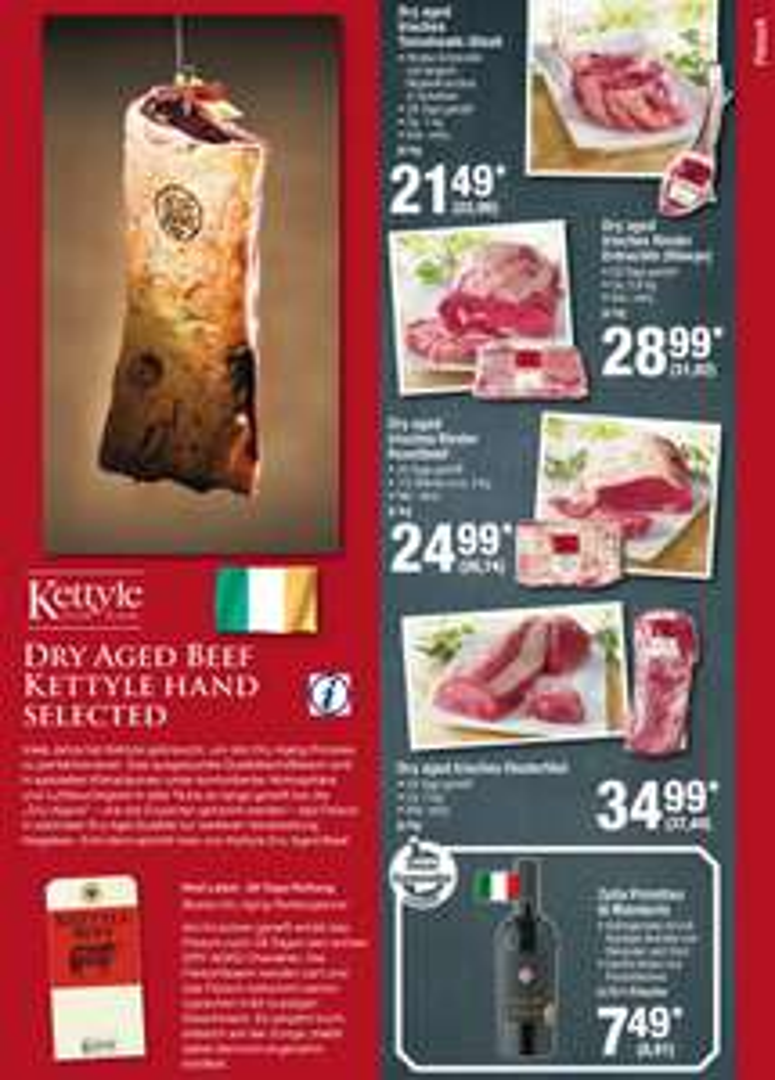 [Metro] Irisches Dry Aged Beef *** Tomahawk *** Roastbeef *** Ribeye *** Filet