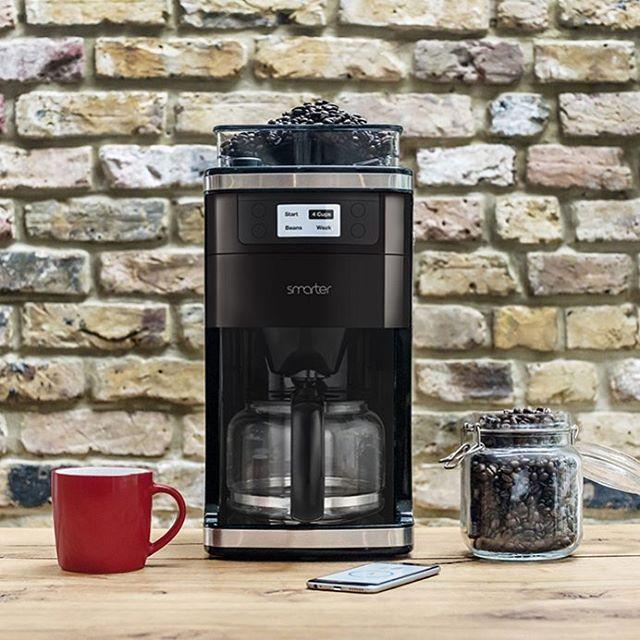 WiFi Kaffeemaschine inkl. Mahlwerk - frisch gemahlener und gebrühter Kaffee nach dem Aufstehen