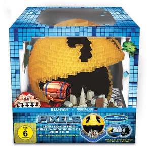 Amazon WHD: Pixels (Pacman Cityscape) [3D Blu-ray] [Limited Edition]