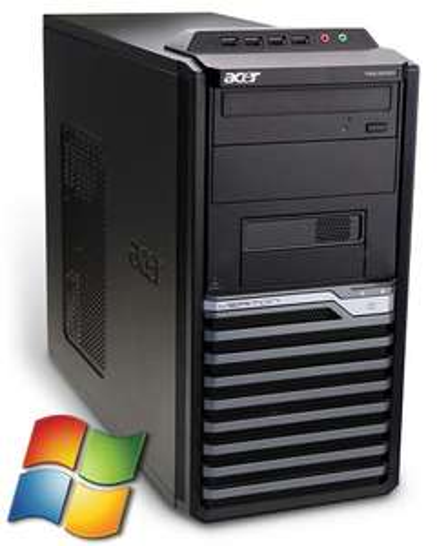 NUR 99,89€ /// Acer Veriton M4610G Tower PC Computer - Intel Core i3 2x 3,3 GHz 4GB RAM 320GB HDD DVD-Brenner - Windows gebraucht Softwarebilliger.de?