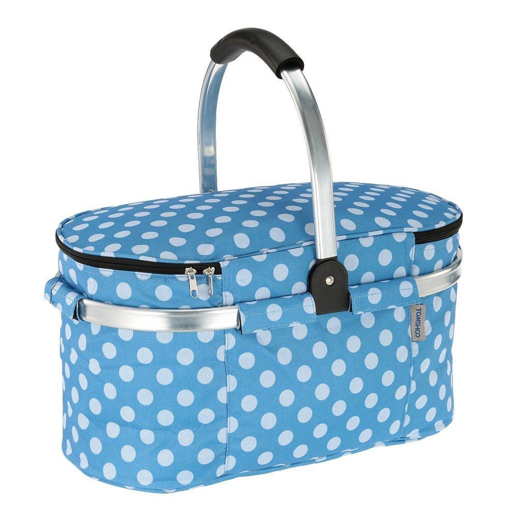 30L Picknick Korb Faltbare Einkaufskorb