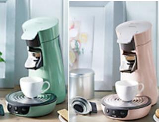 Kaffeepadmaschine Senseo Viva Cafe mit Kaffee Boost Technologie in Mintgrün (HD7829/10) oder Rosa (HD7829/30) für 43,95 € inkl. Versand @ mömax.de