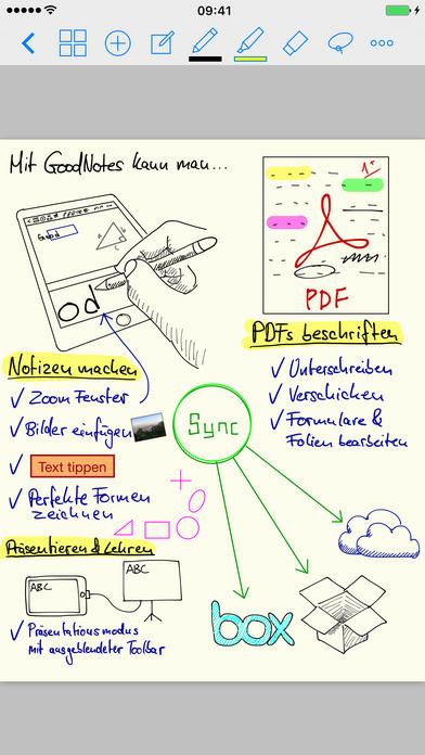(IOS) GoodNotes 4 Notizen & PDF