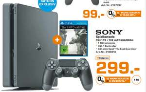 [Lokal HH Saturn] Playstation 4 Slim 1TB + Last Guardian