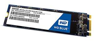 Western Digital Blue SSD 500GB M.2