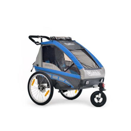 Kinderfahrradanhänger Qeridoo KidGoo-1 in blau, grün oder rot für 318,49€ versandkostenfrei bei [babymarkt]