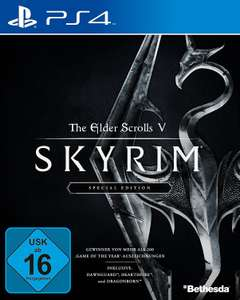 The Elder Scrolls V: Skyrim Special Edition (PS4) für 29,97 Euro (Amazon)