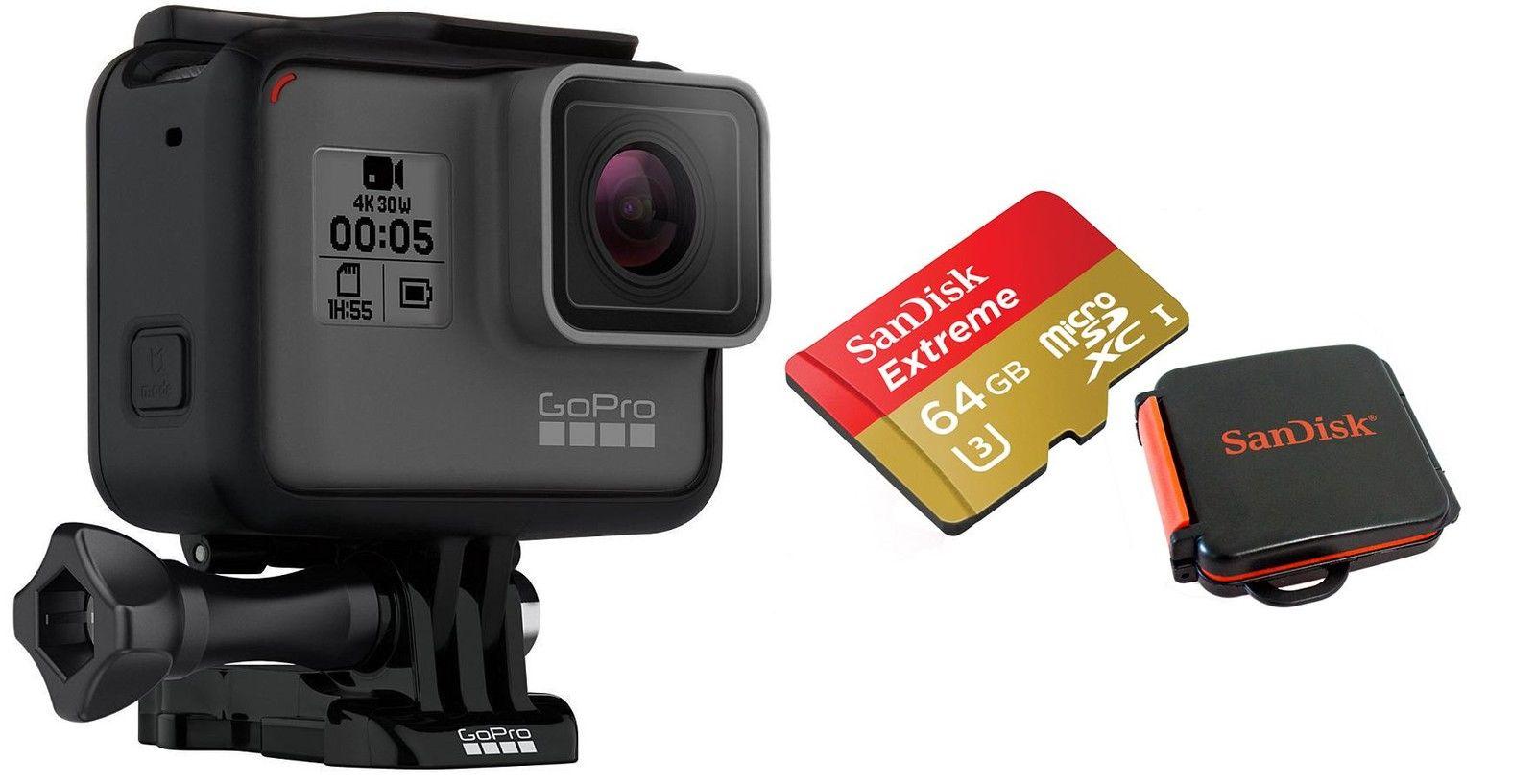 Go Pro Hero 5 Black + TOP 64GB SD + Zubehör