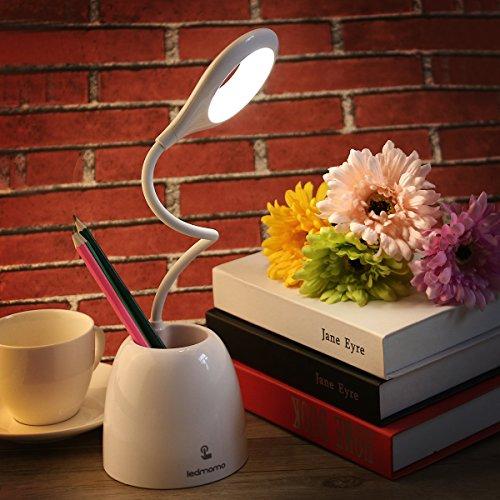 LEDMOMO LED Schreibtischlampe Dimmbar Touchcontrol bei Amazon 11,59€