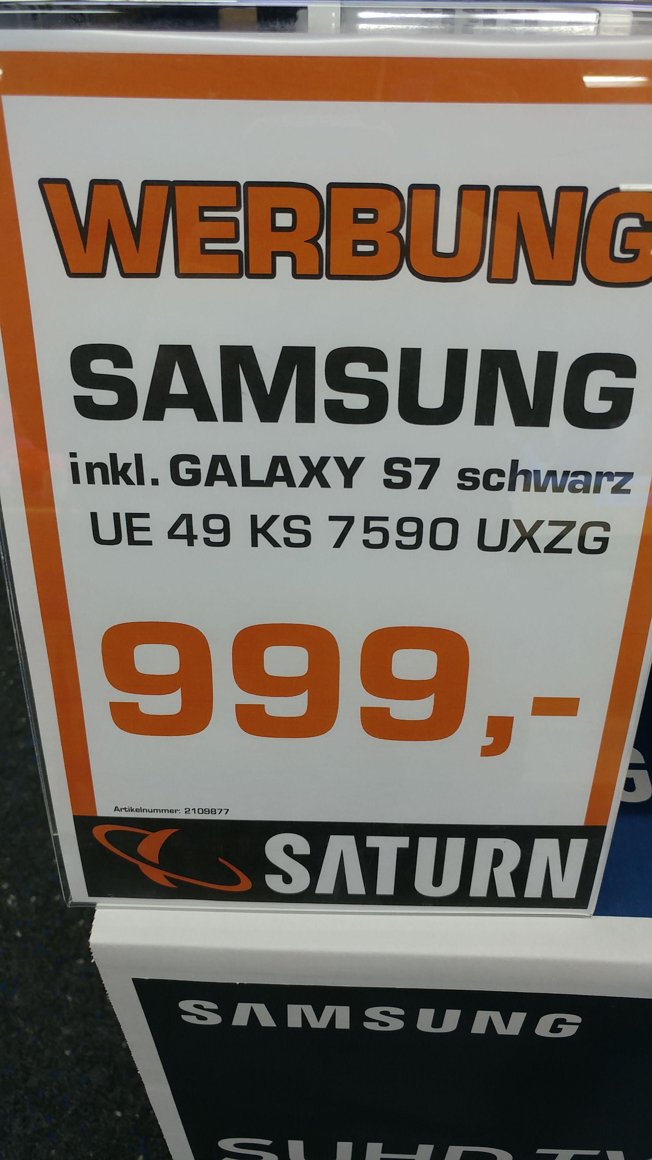 [Lokal Saturn Tübingen] Samsung 49 KS 7590