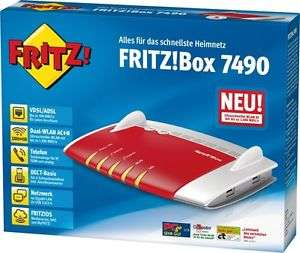 AVM FRITZ!Box 7490 für 163,97€ [Ebay Plus]
