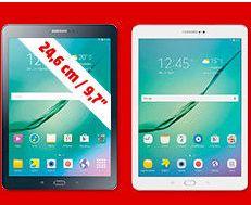 """Samsung Galaxy TAB S2 9,7"""" Tablet Cortex 1,8 GHz 3 GB RAM 32 GB Android 6.0 (Marshmallow) Schwarz oder Weiß für je 299,-€ Versandkostenfrei [Mediamarkt]"""