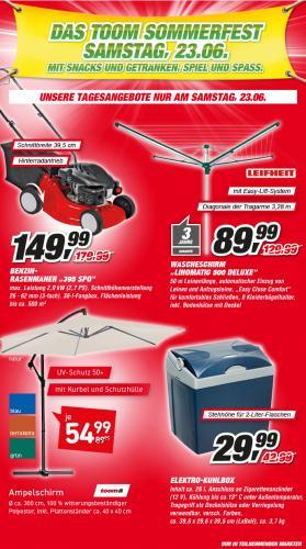 Leifheit Wäschespinne Linomatic 500 Deluxe für 89,99€ @ Toom Baumarkt - nur am 23.06.