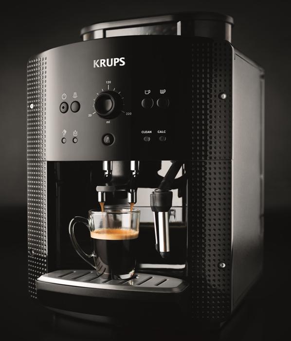 [ebay plus wow]  Krups EA 8108 Kaffee Vollautomat Espresso, Kaffee, Cappuccino Plus Düse für 204€ statt 246€