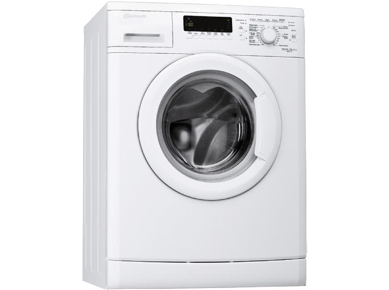 Saturn: Tagesangebote – BAUKNECHT WAK 73, 7 kg Waschmaschine, Frontlader, 1400 U/Min., A+++, Weiß für 299€