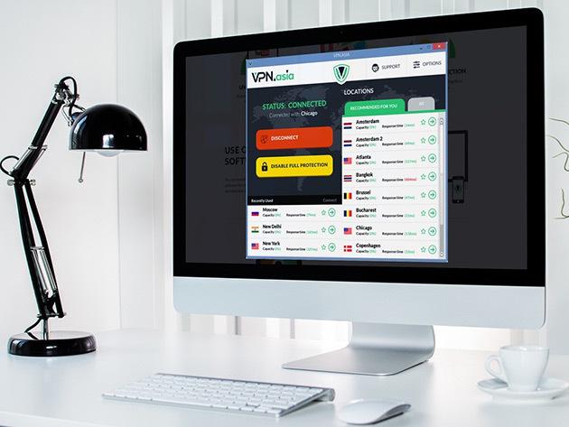 VPN.asia Lifetime VPN
