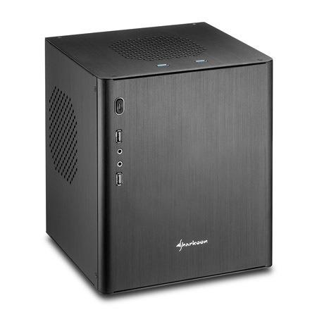 Sharkoon CA-I Gehäuse schwarz, Mini-ITX für 35,98 EUR inkl. Versand