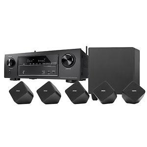 Denon AVR-X1300W 7.2 AV Receiver mit 4K , DLNA, BT & WLan, 3D-Ready + Denon SYS-2020 5.1 Lautsprecher System für 424,91€ (eBay Plus)