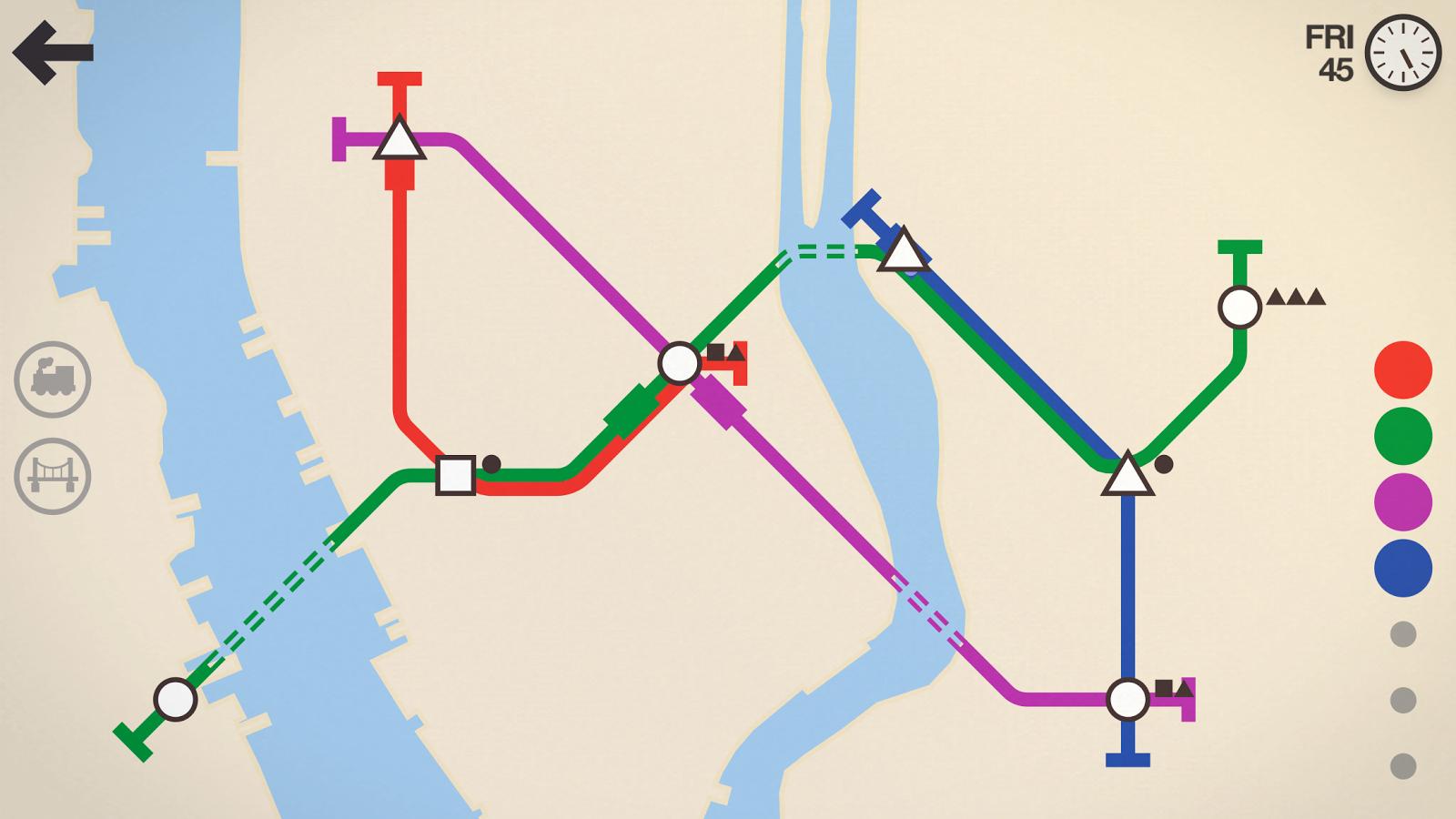 [Android] Mini Metro - U-Bahn-Simulator für 1,99€ statt 4,99€