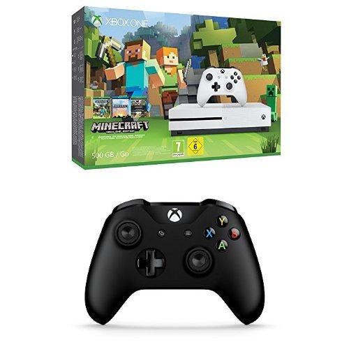 Xbox One S 500GB + Minecraft + 2. Xbox One Wireless Controller für 265€ (Amazon.co.uk)