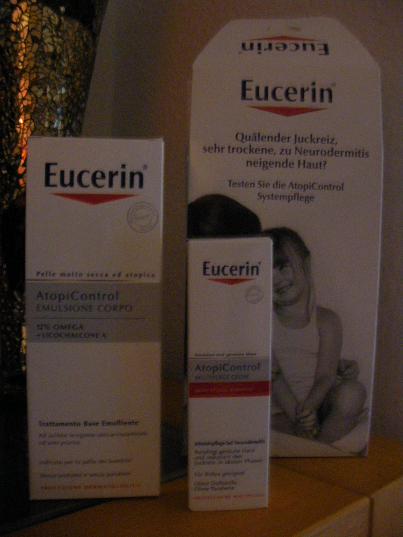 EUCERIN Atopi Control Systempflege 250 ml & 40 ml
