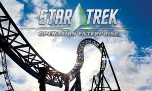 Movie Park Germany für 25€ (statt 41€) - neu Star Trek Achterbahn