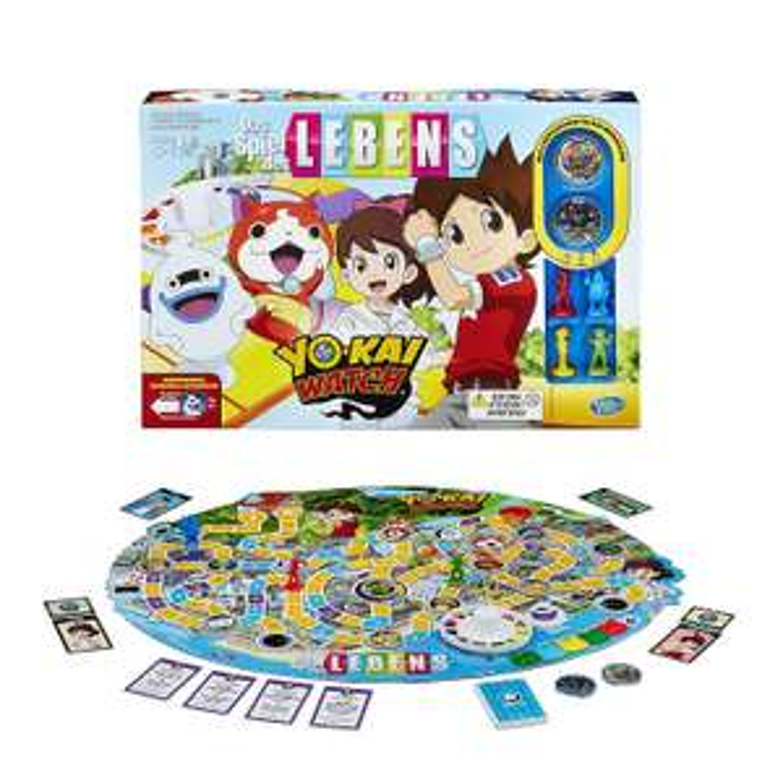 Hasbro Spiele B6493100 – Spiel des Lebens Yokai Watch, Familienspiel für 9,01€