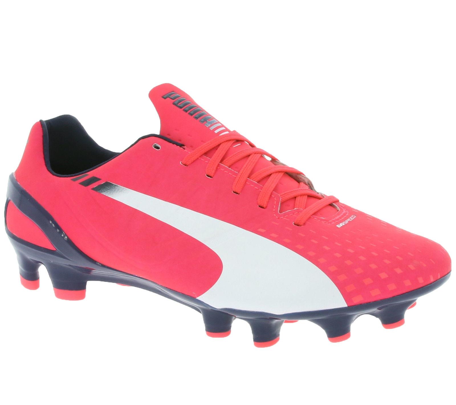[@outlet46] PUMA evoSPEED 2.3 FG Fußballschuhe in der Farbe pink