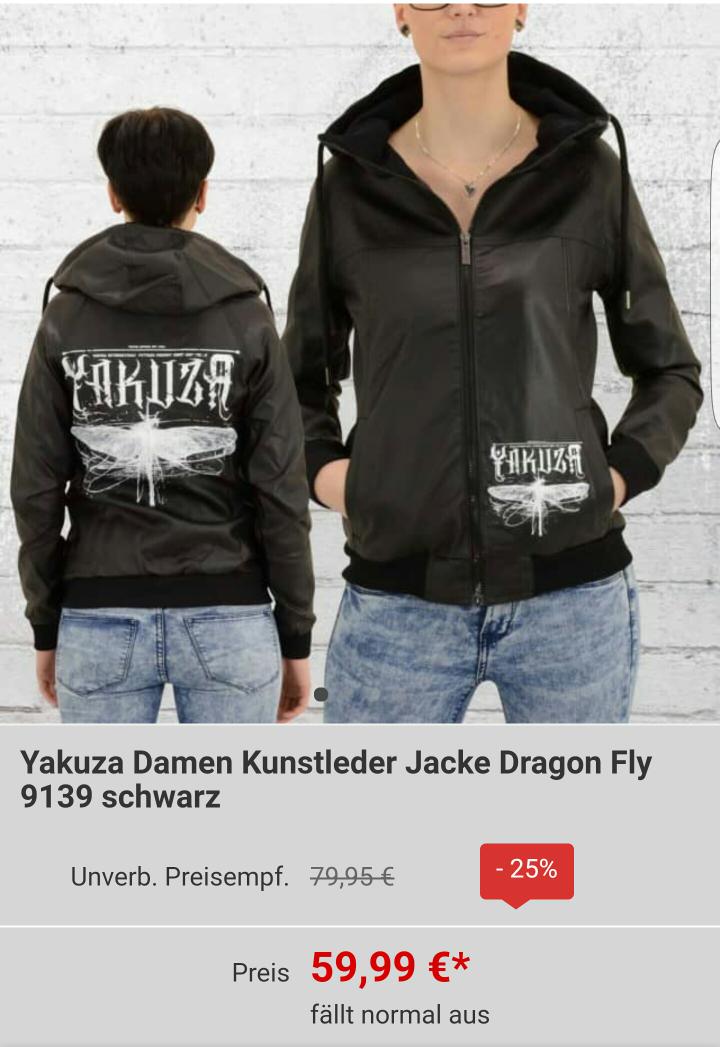 Yakuza Damen  Jacke