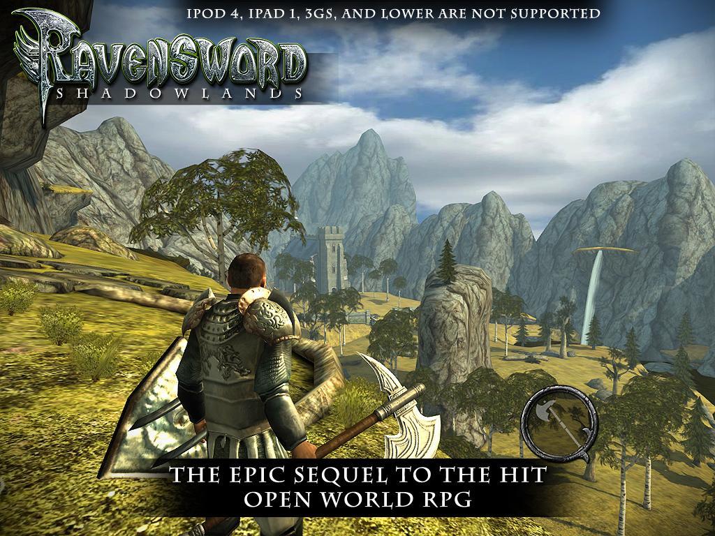 [Android] Ravensword: Shadowlands 3d RPG für 0,59€ statt 6,99€