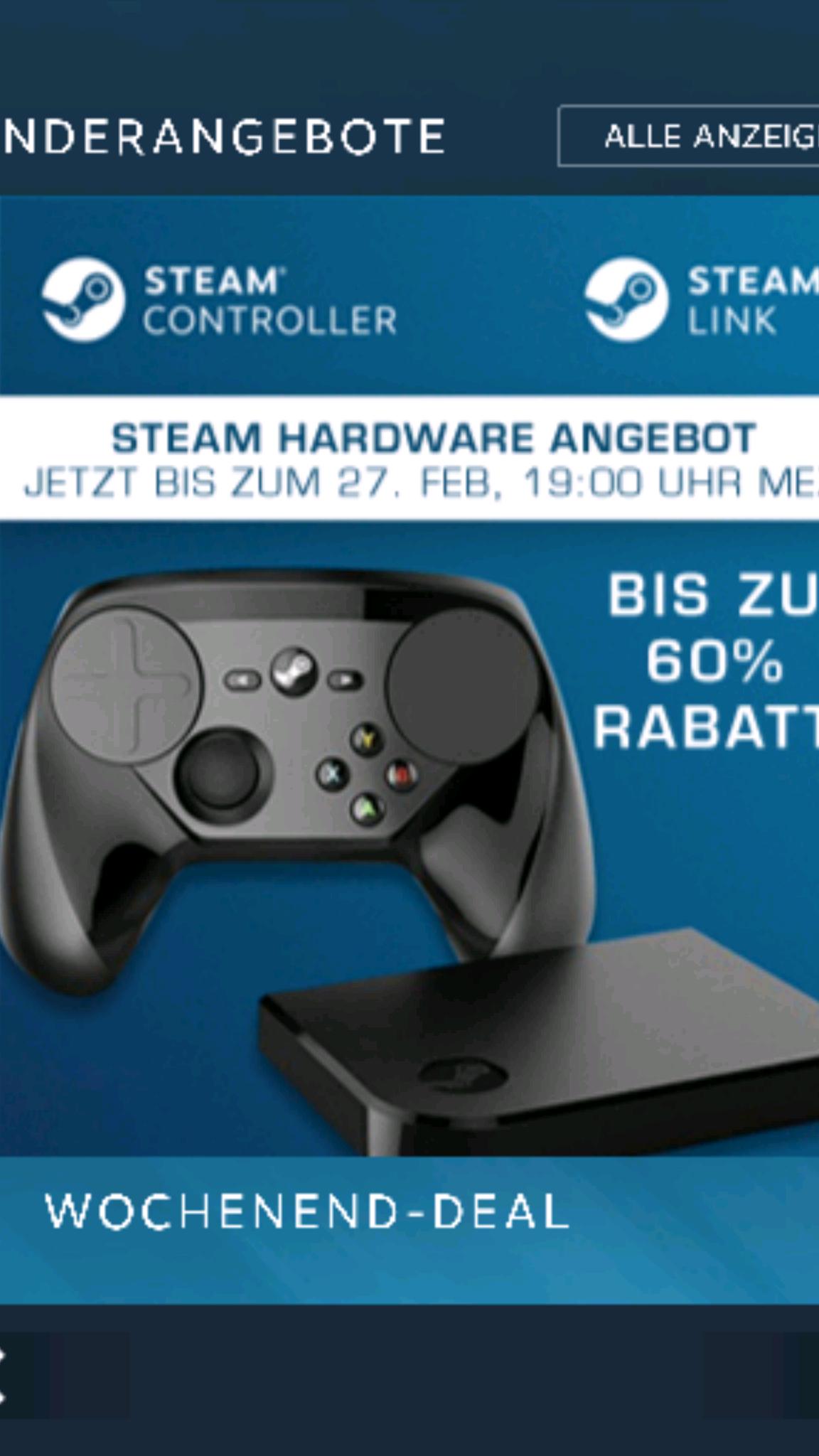 Steam Controller und Link im Angebot