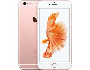 "[Carbonphone / Allyouneed] Apple iPhone 6s Plus, Smartphone, 4G LTE, 16 GB, 5,5"" 1.920 x 1.080 Pixel Retina HD, 12 MP (5 MPix Frontkamera), Rosegold, Demoware"