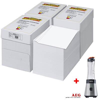 10.000 Blatt Kopierpapier + AEG Smoothie Maker SB2500